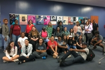 Students Hula Hoop on Kaufman Mall